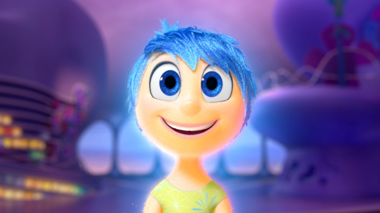 Pictured: JOY. ©2015 Disney•Pixar. All Rights Reserved.