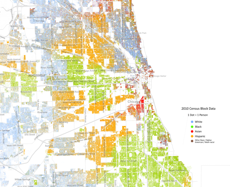 Chicago Demographic Map